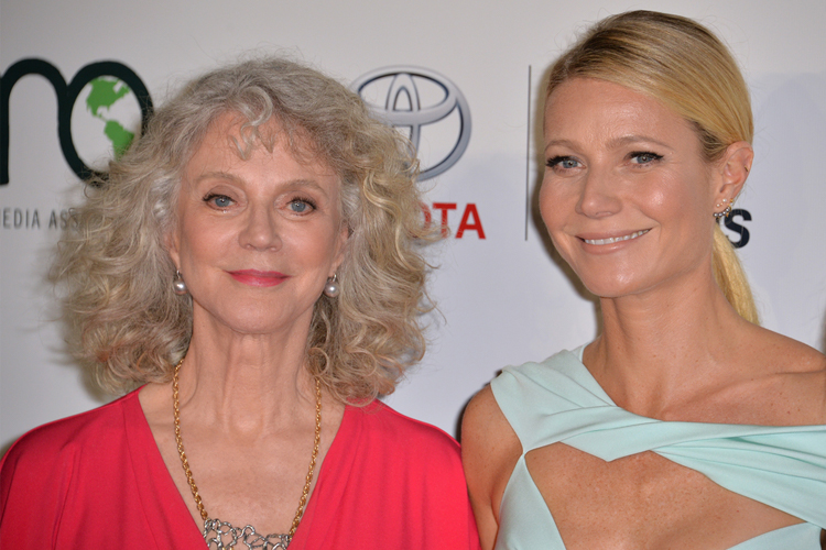 Gwyneth Paltrow and mother Blythe - peas in a pod