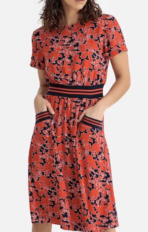 Floral Print Midi Dress, £55, La Redoute