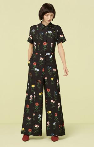 Pansy Print Jumpsuit, £129, Finery London