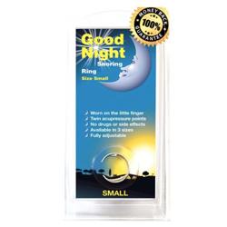 Good Night Snoring Ring £29.99