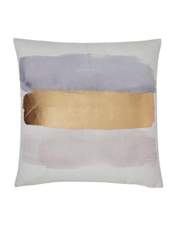 Brush stroke cushion, £8, Dunelm