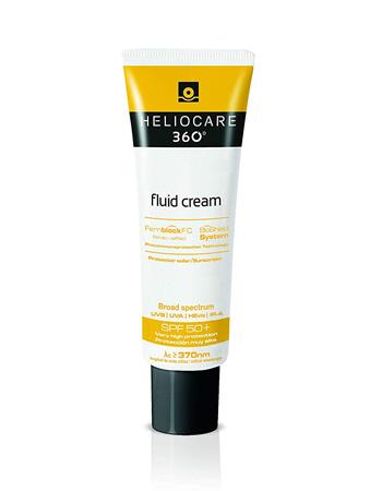 Heliocare 360º Fluid Cream Sun Block £24, Amazon