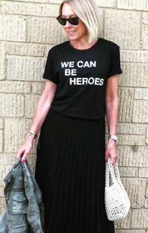 We Can Be Heroes black tee, £22, Disco Kids