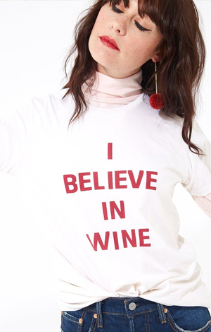 I Believe In Wine, £26, Bando