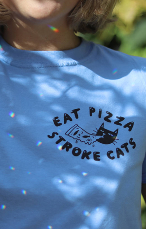 Eat Pizza, Stroke Cats, £25, Not On The High Street