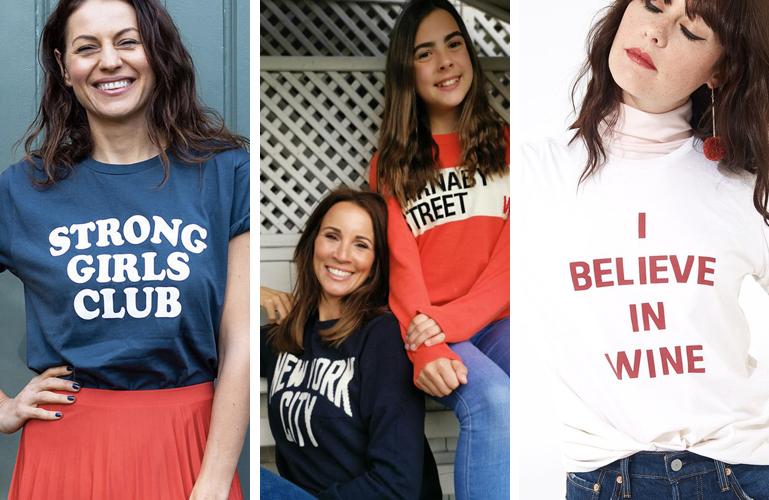 The best slogan tops -