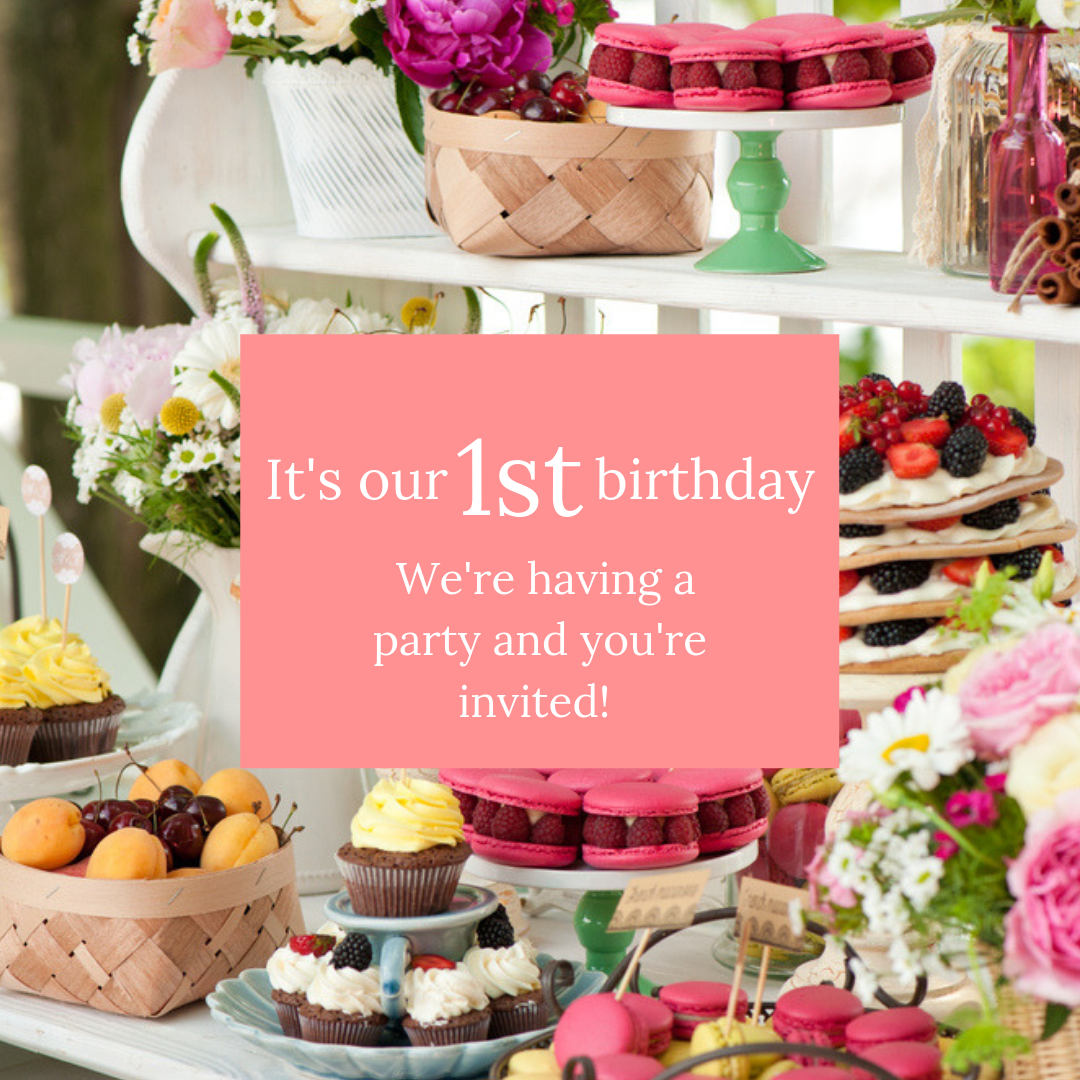 Win tickets to our first birthday party! -