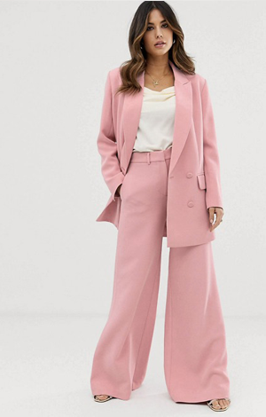 Trouser suit, £170, ASOS