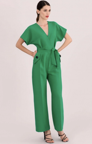 Green kimono jumpsuit, £75, Closet London