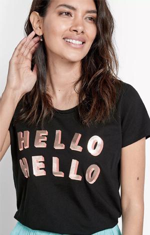 Hello Hello tee, £35