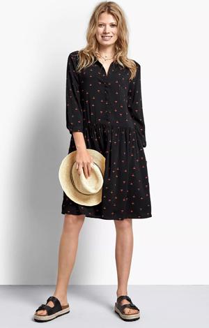 Emanuelle cherry print dress, £65