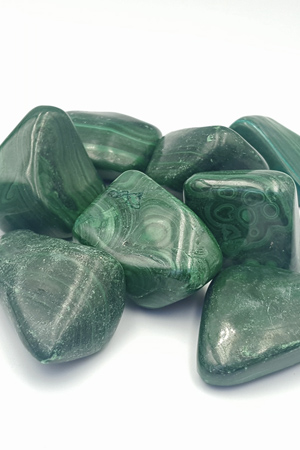 Jumbo Malachite Tumble Stone Crystals, £6.99, Shamans Crystal