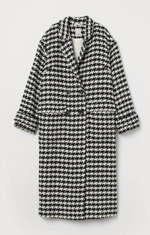 Oversized wool-blend coat, £119.99, H&M