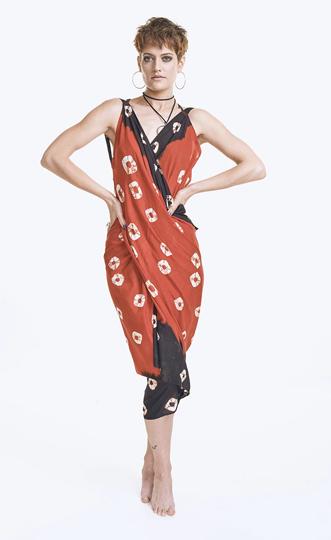 Red Eye Secret Sari, £35