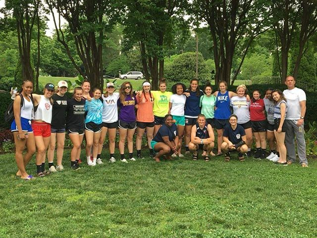 Team run yesterday and game day today. We're ready for you, nationals.  #paunited #hsrugby #phillyrugby #girlsrugby #tacklingthedream