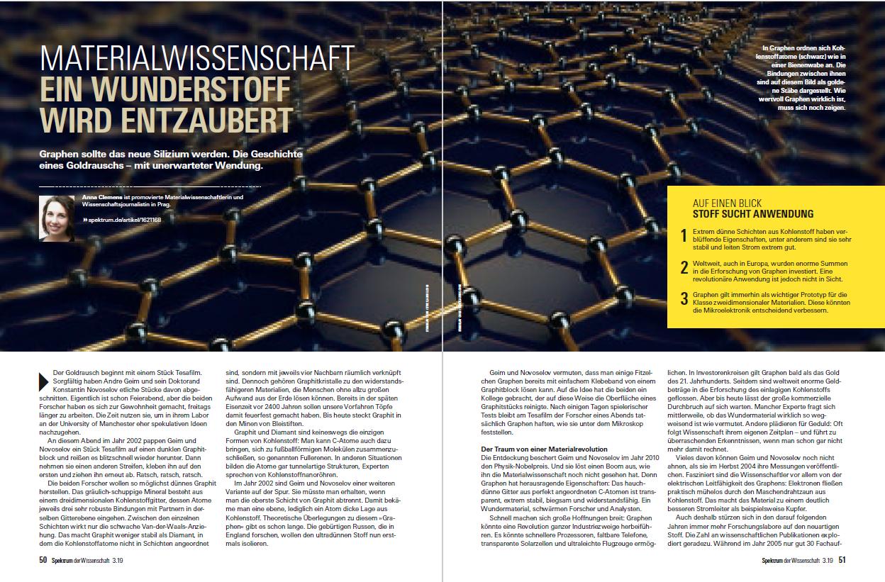 © 2019 A. Clemens, Spektrum der Wissenschaft Verlagsgesellschaft mbH