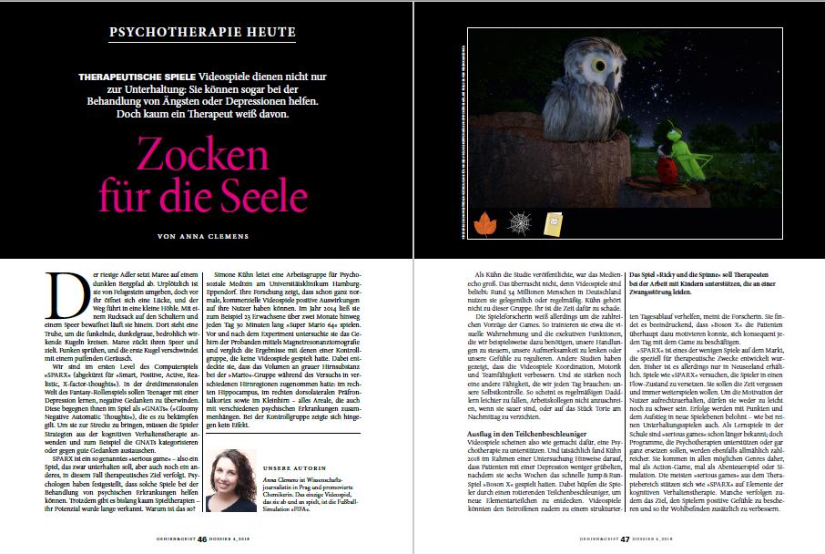 © 2018 A. Clemens, Spektrum der Wissenschaft Verlagsgesellschaft mbH
