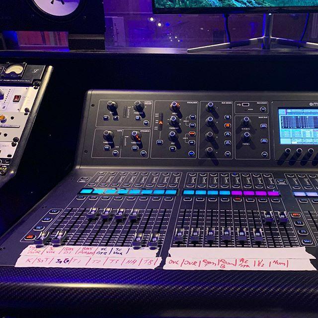 Even when using digital consoles, I prefer to use board tape. . . . . #studiolife #musicproducer #musicproduction #ohiomusic #mastering #studioflow #studioporn #dailygrind #recordingengineer #recordingstudio #studiotime #focusrite #api #neve #ohiomusic #columbusmusic #protools #cubase #studioone #columbus #recording #ohio #audioengineer #mixingengineer #ohiobands #614music