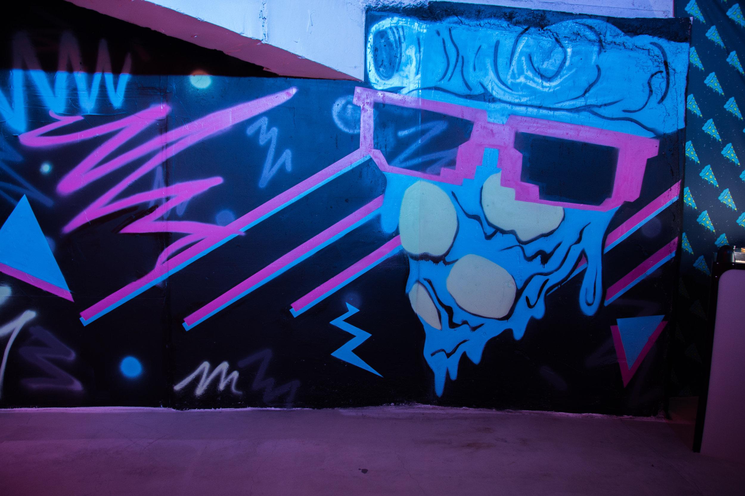 Grafitti Wall - Pizza + Shades.jpg