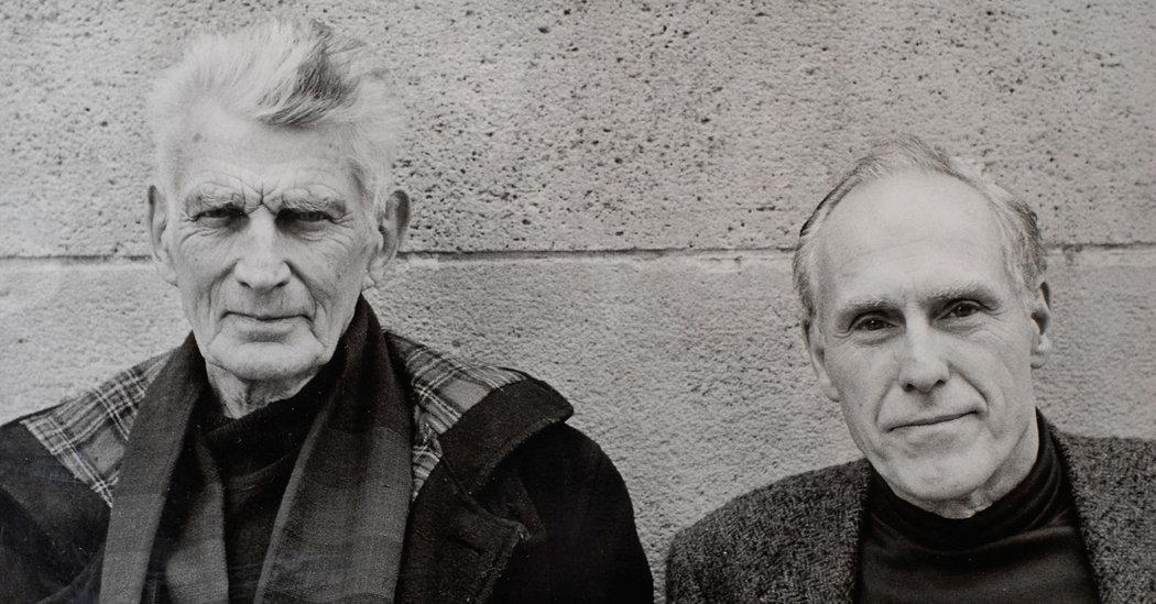 Samuel Beckett and Barney Rosset, 1970s.  Photo Credit: Bob Adelman