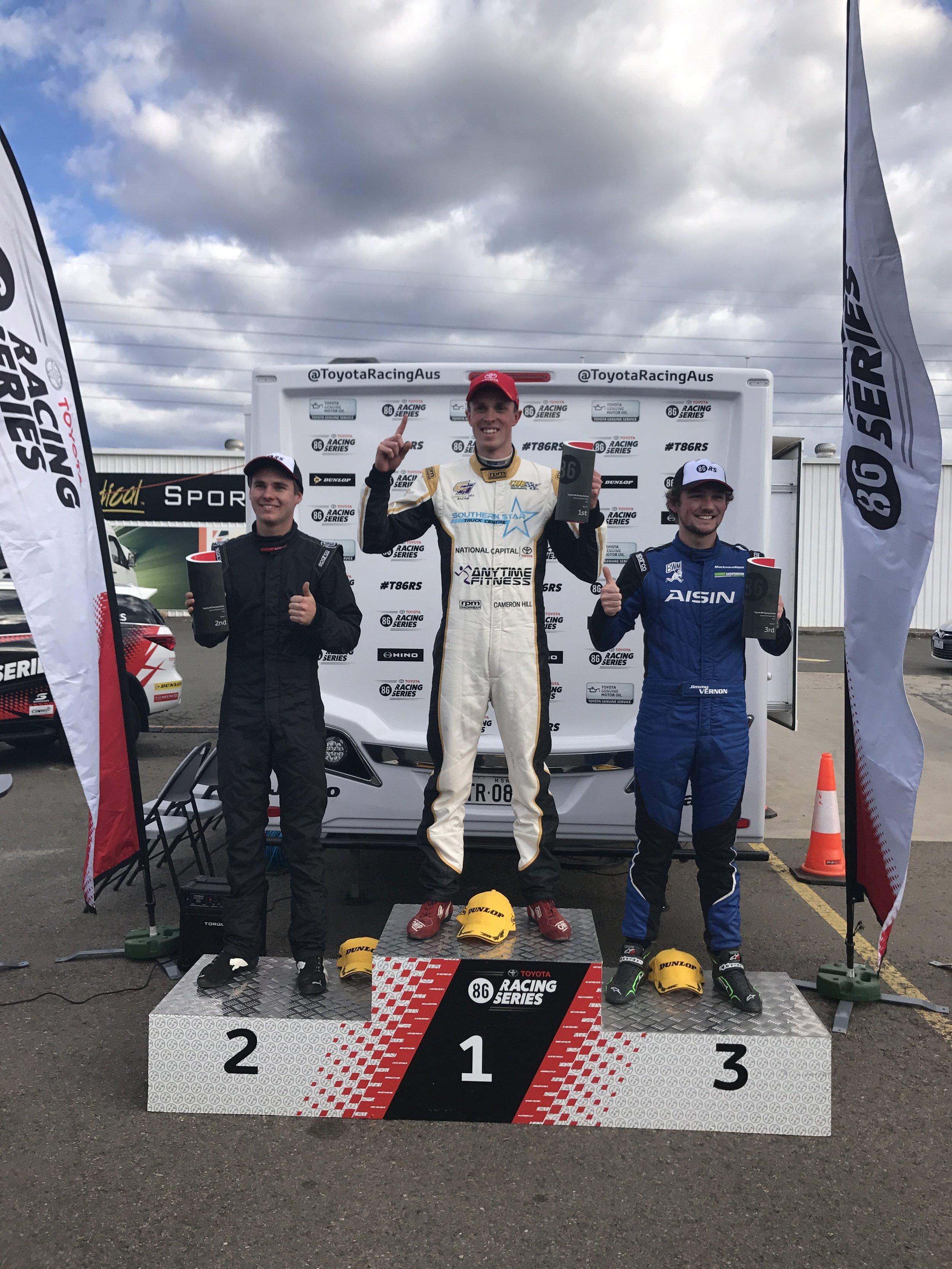 Race 1 podium.JPG