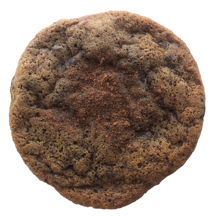 ovaltine - our ovaltine cookie is more like a malty molten lava cake but in cookie form