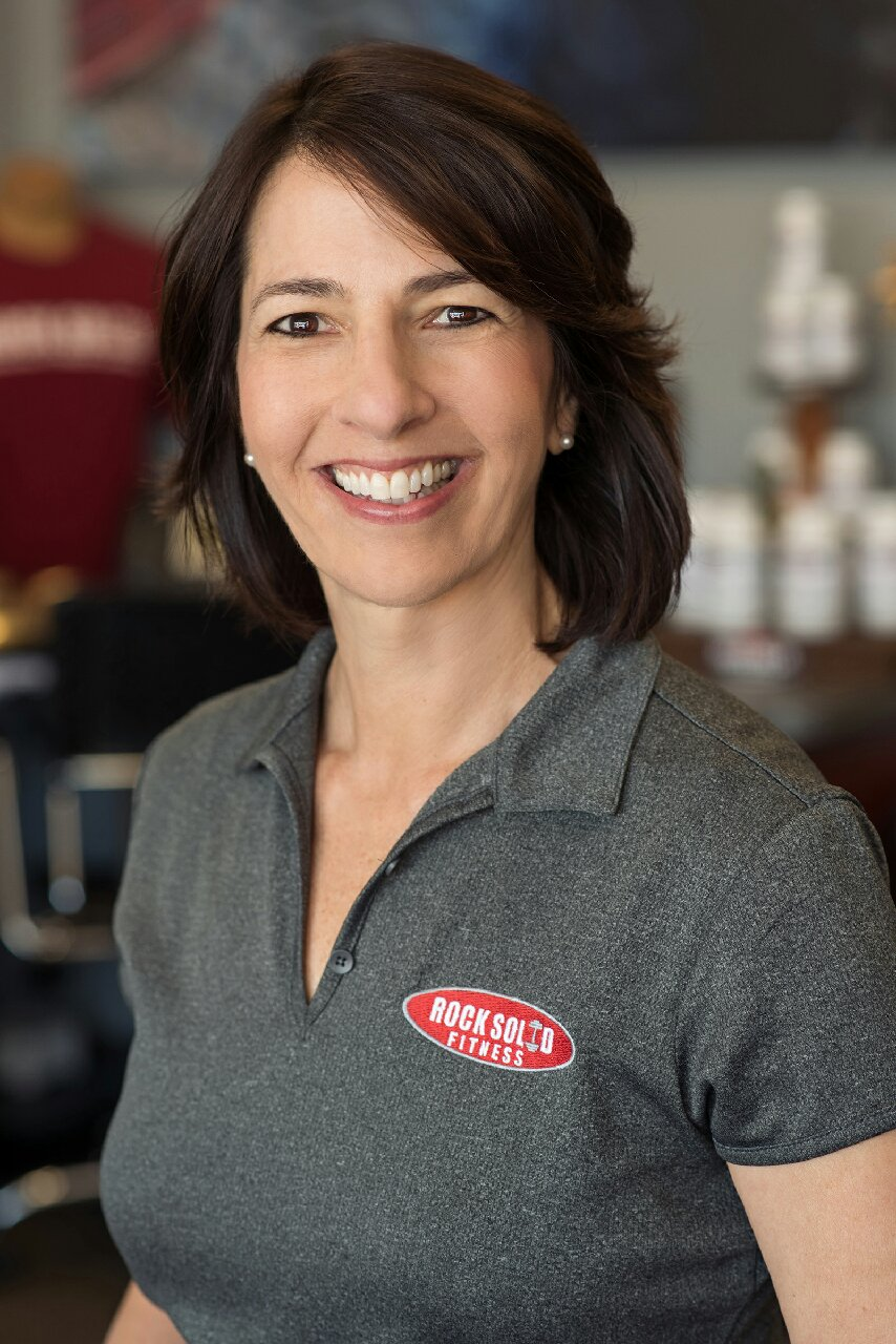 Patty Durell - Patty is a physical therapist assistant and co-owner of Rock Solid Fitness with her husband Dave in Dunedin, FL.