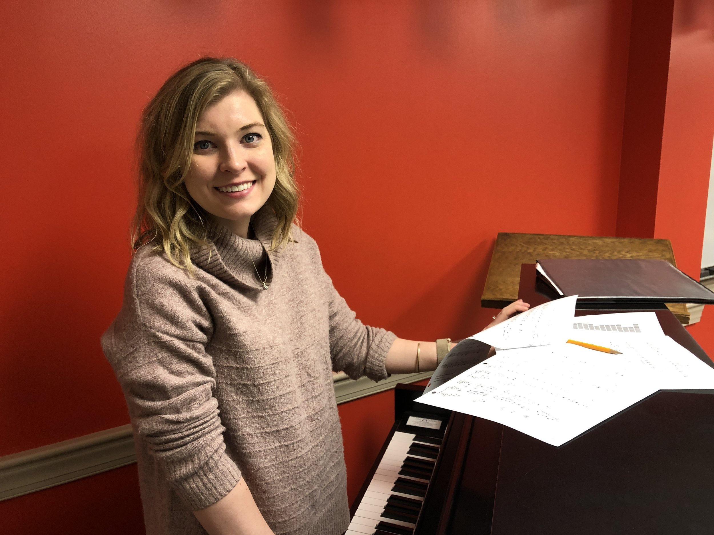 Hannah is a volunteer children's choir leader, a teacher in Second's Conservatory of Music, and a periodic Sunday evening worship team leader. -