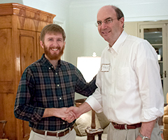 Price Morrison chats with Barr Overcast who recently received a Master of Divinity from RTS Charlotte. Price served as a mentor to Barr during his years in seminary.