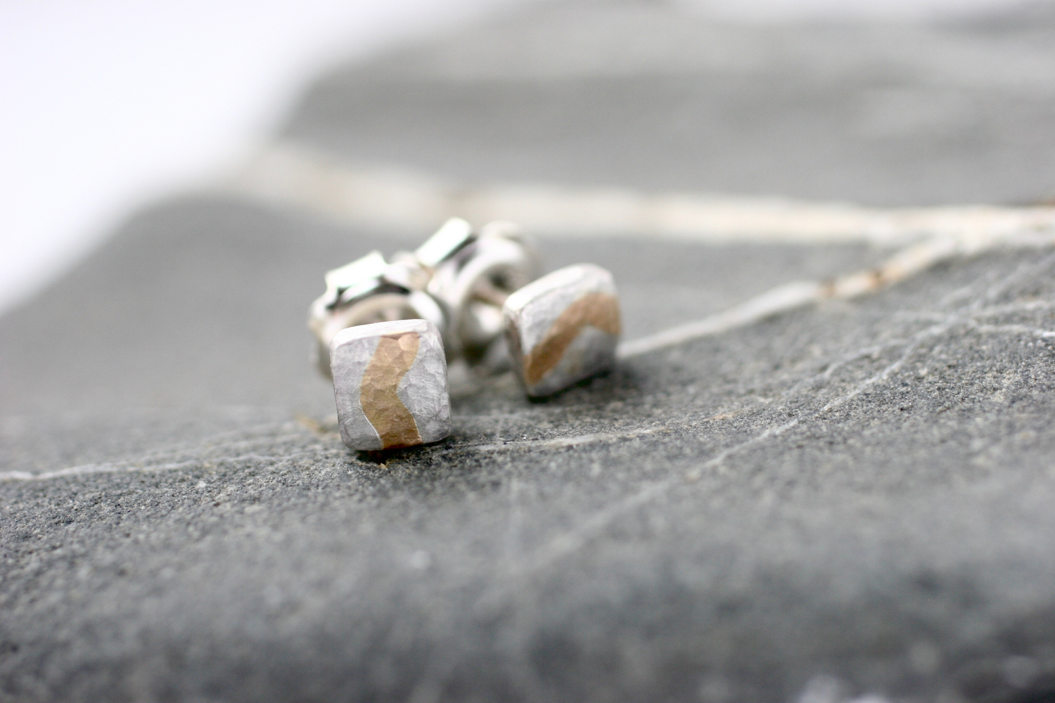 Silver & 14ct yellow gold