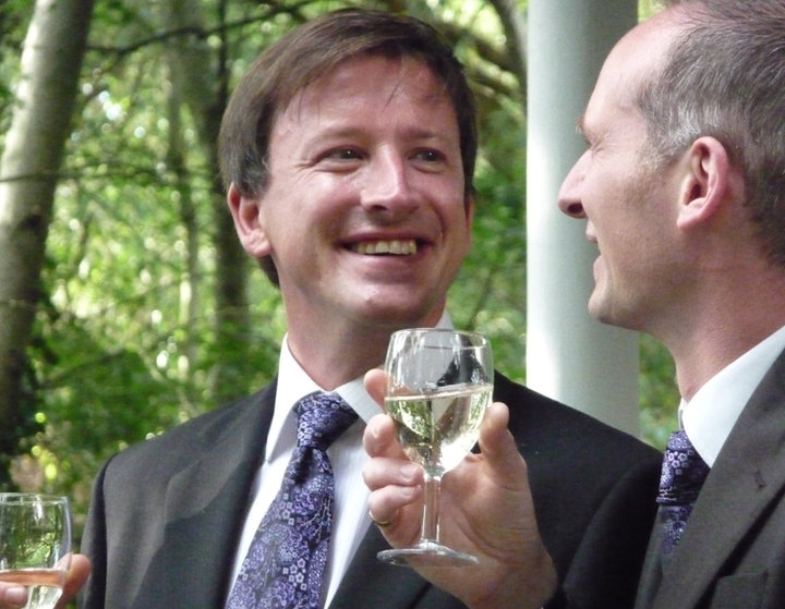 Michael & Mark's Woodland Glade wedding