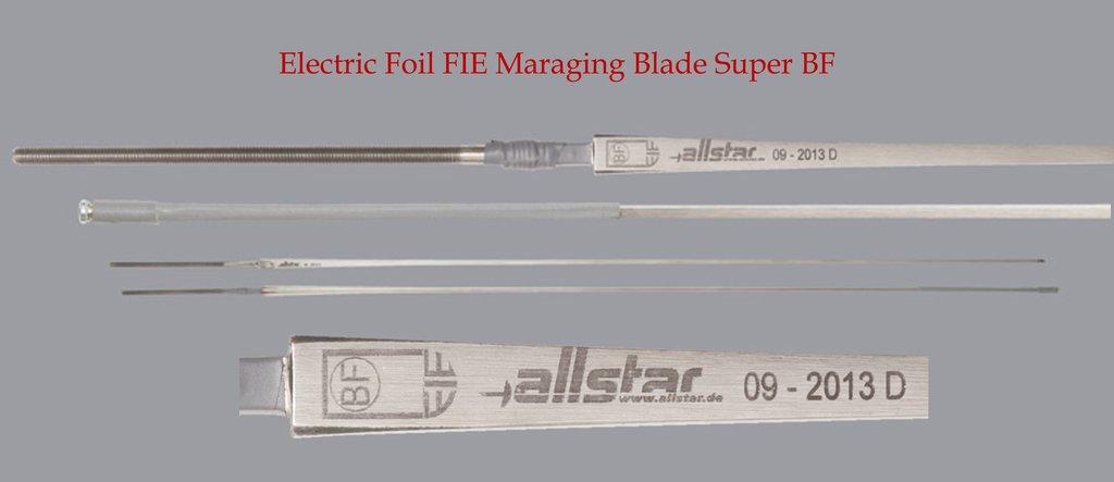 FIE grade fencing blades