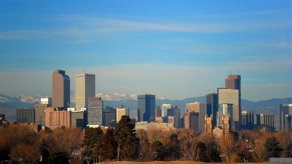 Denver, Colorado - host city to the fencing Junior Olympics in February 2019