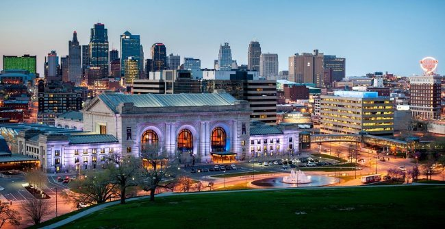 Kansas City, Missouri - host to the fencing November NAC 2018