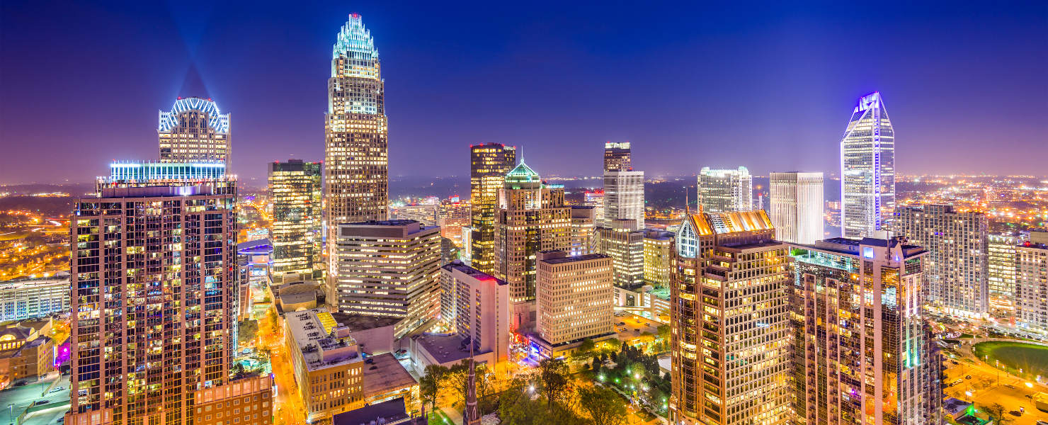 Charlotte, North Carolina - host to the fencing January NAC 2019