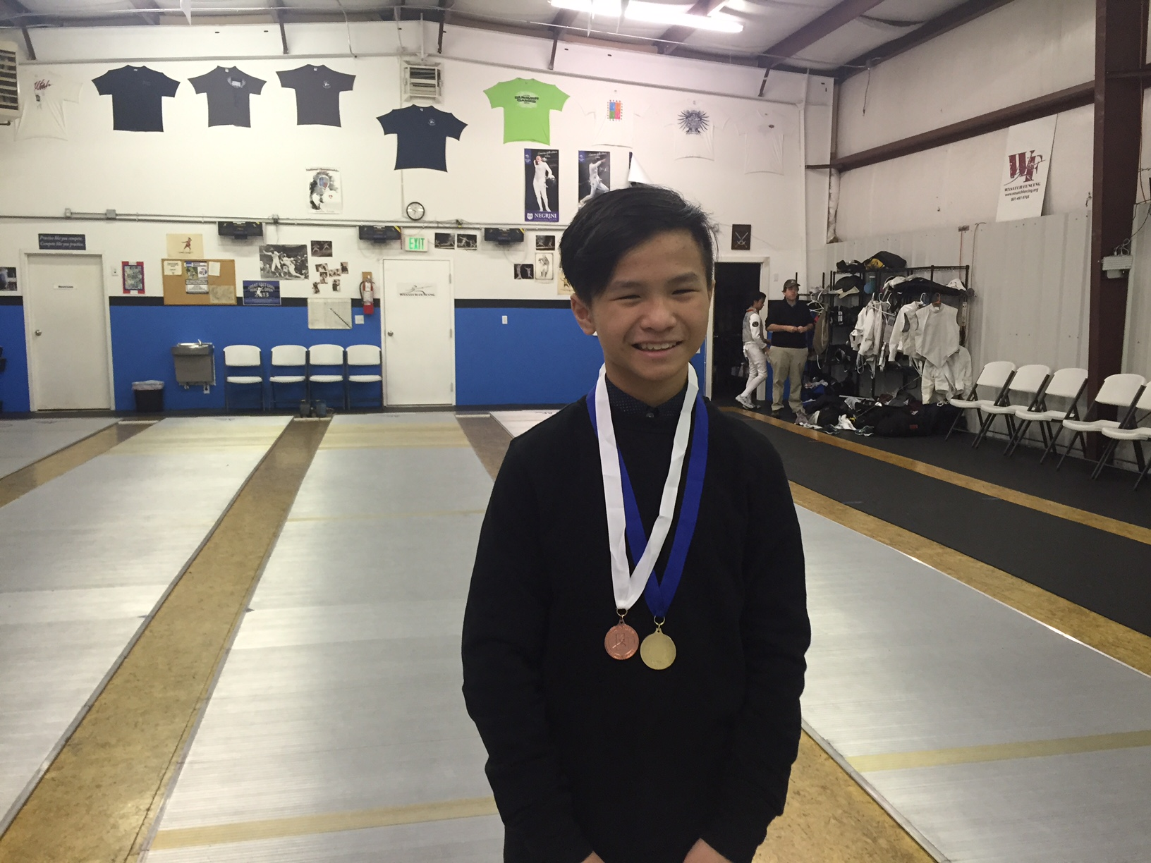 Medaling at local youth tournaments