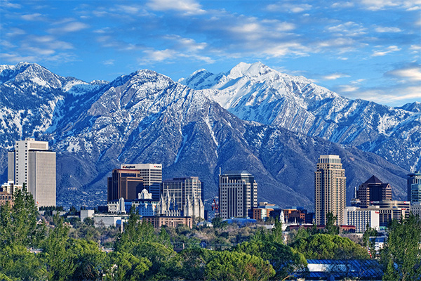 Salt Lake City, Utah - host to the April NAC and Division 1 Championship and Wheelchair Championship
