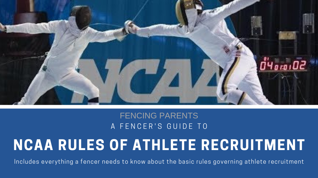 NCAA Fencing Athlete Recruitment Rules