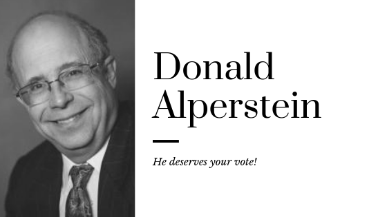 Donald Alperstein He deserves your vote.png