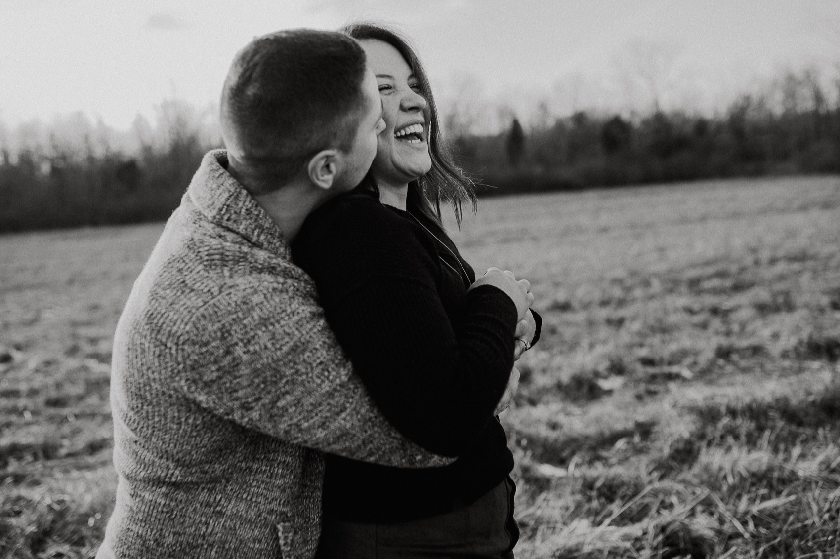 Adventurous and fun engagement session
