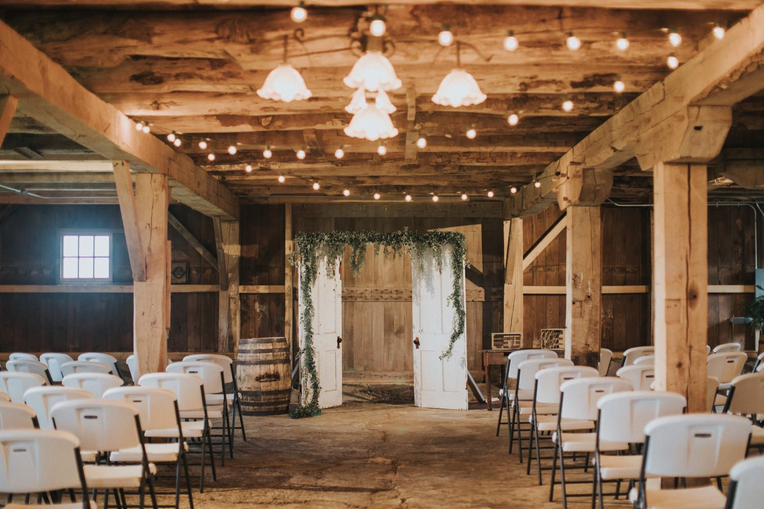 The Shepard Barn in Casstown, The Shepard Barn wedding in Ohio, Ohio wedding photographer, Dayton Ohio wedding photographer, Columbus wedding photographer, LGBTQ Columbus wedding photographer, ohio wedding venues, Indianapolis wedding photographer, Columbus wedding venue, barn wedding, Ohio barn wedding, wedding inspiration, wedding photography, bride & bride, same sex Ohio wedding, first look dad, Mrs and Mrs, LGBT wedding photos, ceremony wedding decoration, ceremony ideas, wedding ceremony