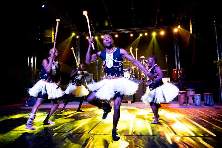 Bomas of Kenya dancers