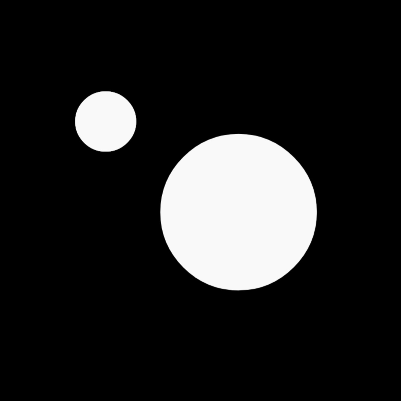 Afrominimalist Two Circle Signature