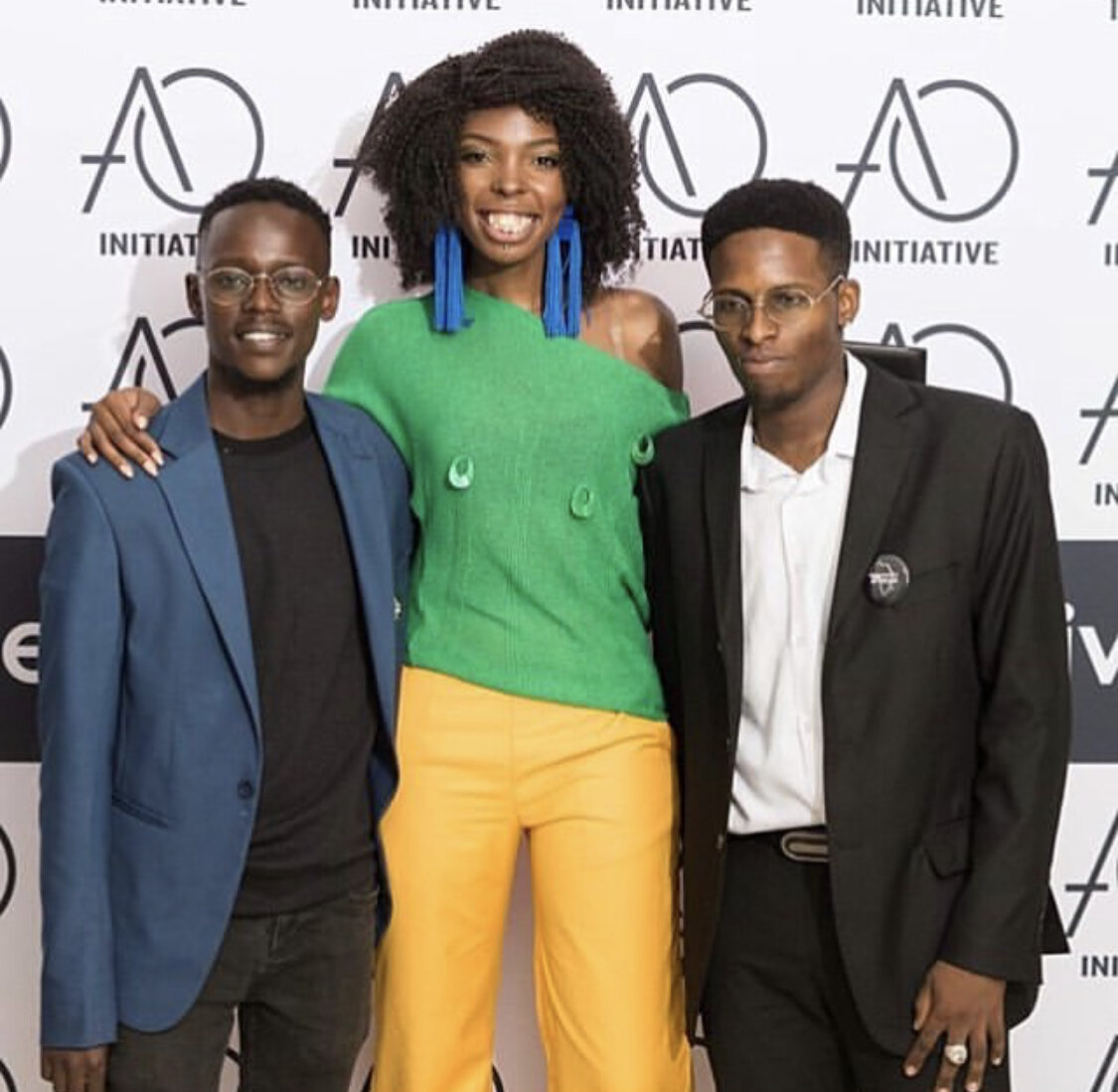IMAGE OF ORINAH AND EVANS WITH ADELLE ONYANGO