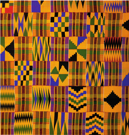 Ghanian Traditional Kente Patterns