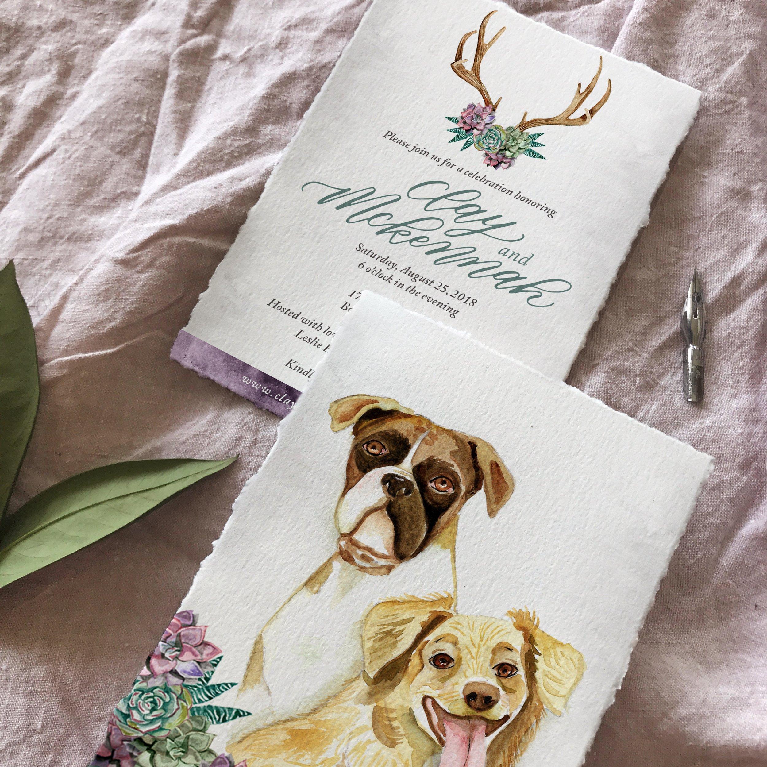 custom-luxury-watercolor-wedding-suite-close-up-sojourn-art-and-ink.JPG