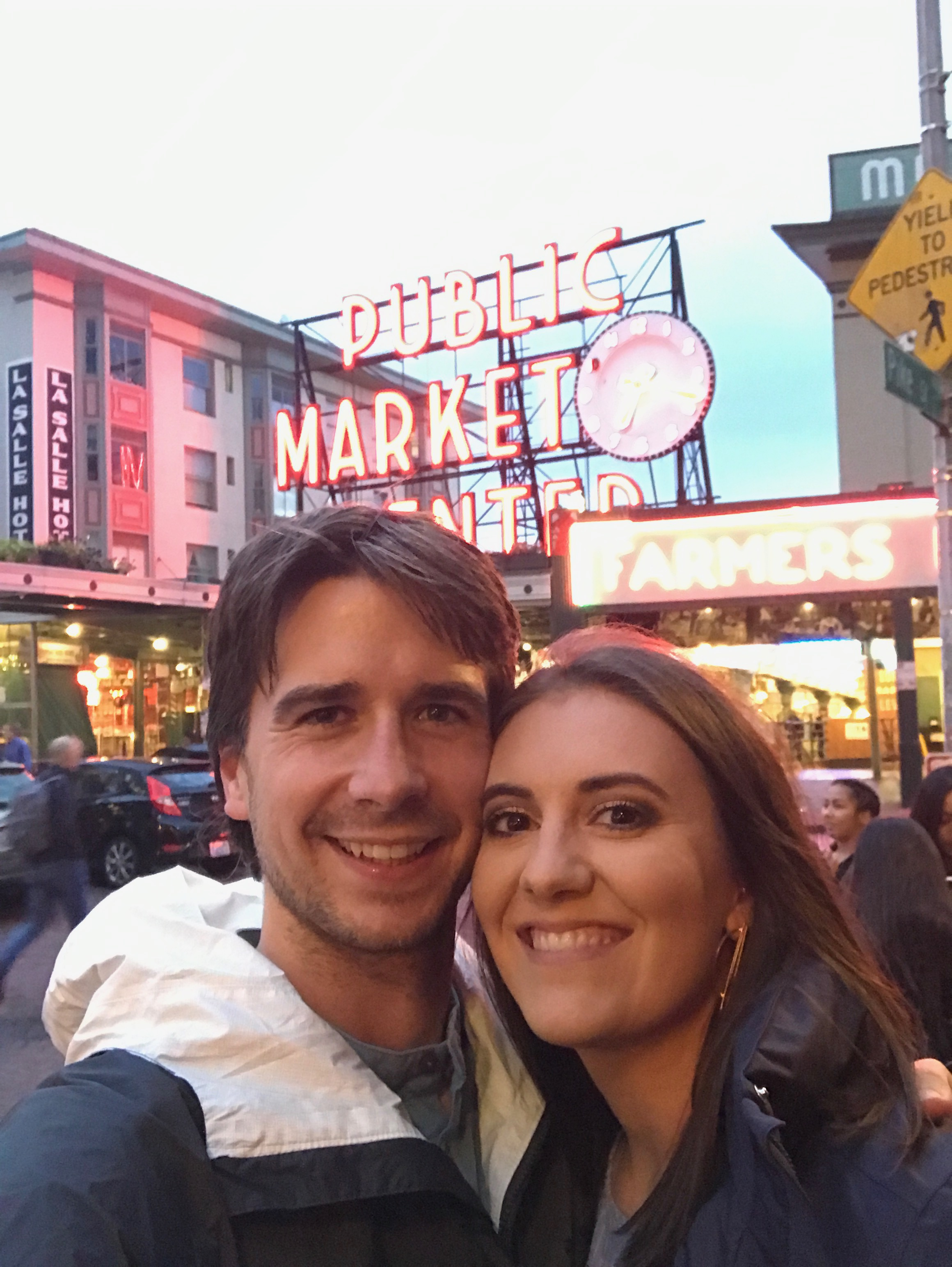 dinner at Pike place