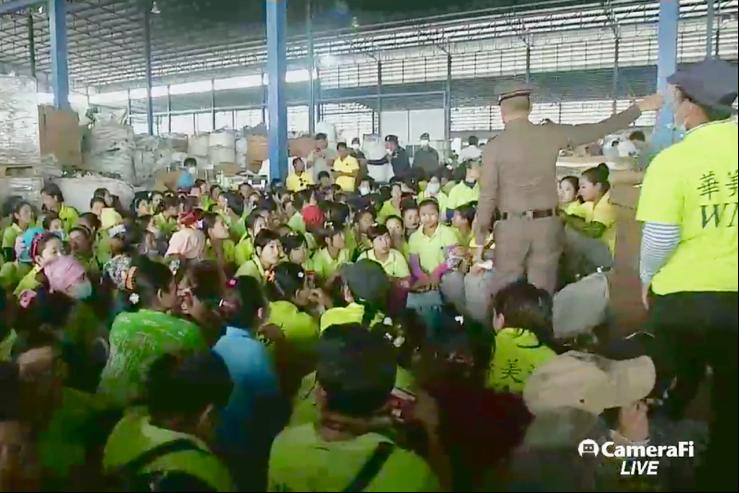 Тайланд дахь хууль бус ажилчид