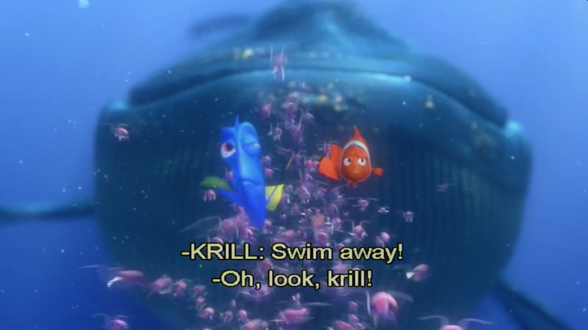 Krill-үүд: -Зугтаарай!  Дори: Хараач, криллүүд байна!