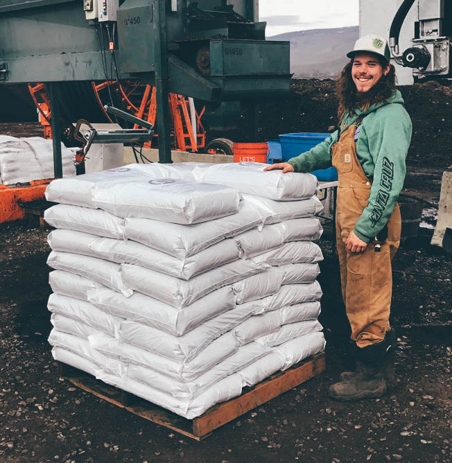 KEVIN SEPULVEDA  / SOIL CHEF  Kevin takes our Organic Compost and turns it into magic. He is the man behind the blends, the recipes, and making it all happen. Chances are if you've had a custom potting mix, a bag of compost or a yard of blend - Kevin's had his hand in it.